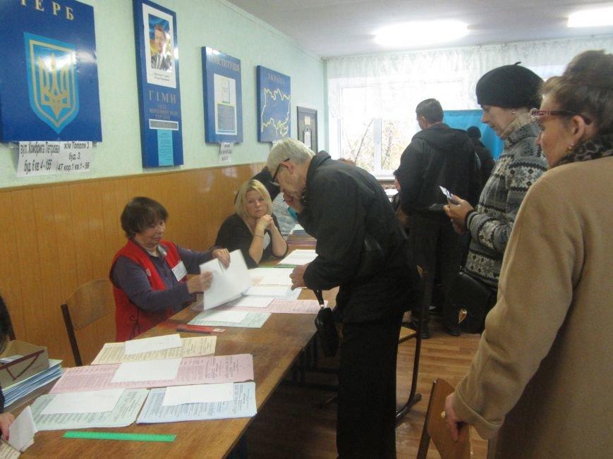 Выборы 2015 в Днепропетровске: начало (ФОТО), фото-13