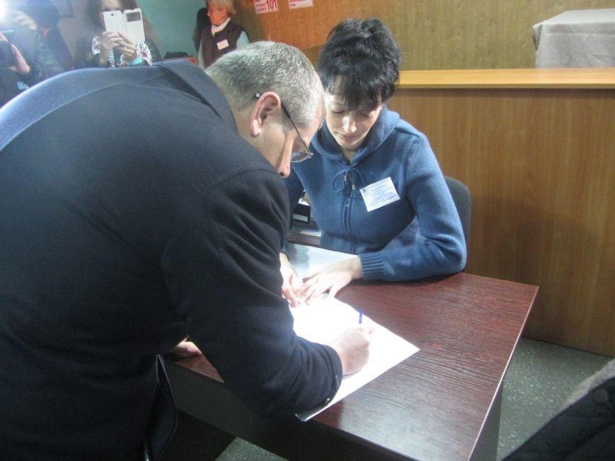 Кандидаты на пост мэра Днепропетровска тоже голосуют (ФОТО), фото-9