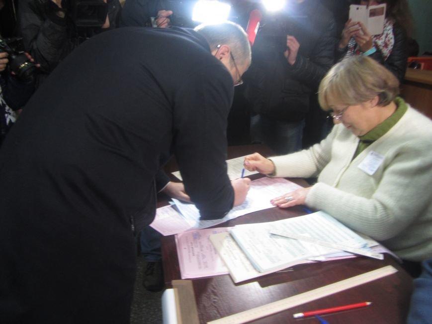 Кандидаты на пост мэра Днепропетровска тоже голосуют (ФОТО), фото-10