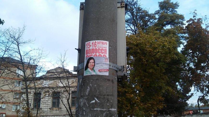 В день выборов на улицах Николаева продолжает висеть политическая агитация (ФОТО) (фото) - фото 9