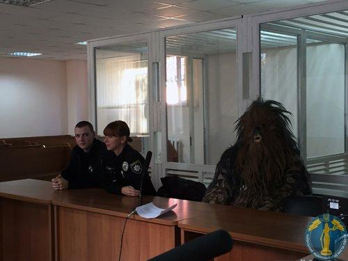 Одесский «Чубакка» предстал перед судом (ФОТО) (фото) - фото 1