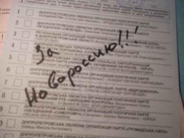 Украинцы на выборах голосовали за Путина и Кадырова (ФОТОФАКТ) (фото) - фото 4
