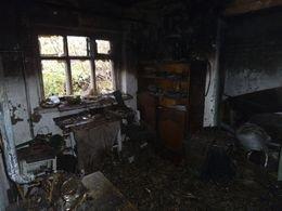 В Краматорске на пожаре погиб мужчина (фото) - фото 1