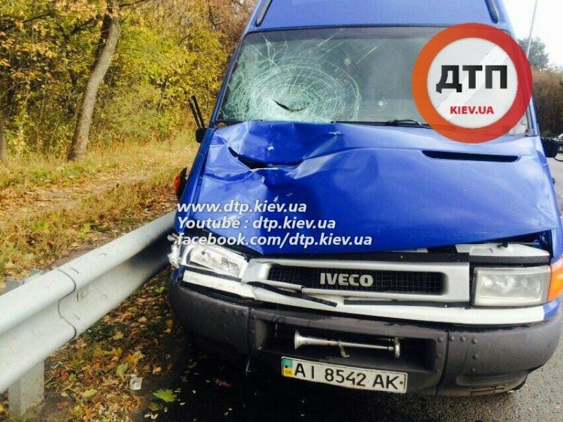 Под Киевом водитель микроавтобуса насмерть сбил пешехода (ФОТО), фото-6