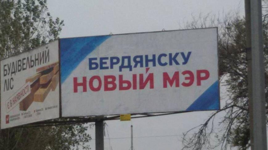 Партия «Наш край» агитирует в день тишины в Бердянске, фото-2