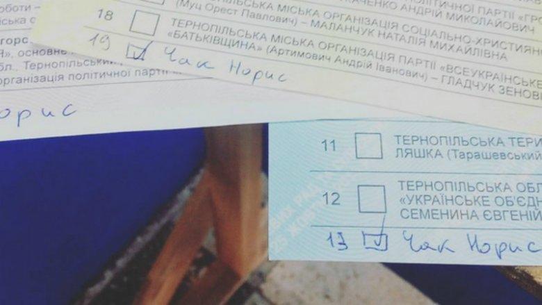 За ВДВ, за маму, за Джона Сноу: у мережі з'явилися фото зіпсованих бюлетенів на виборах 2015 (фото) - фото 13