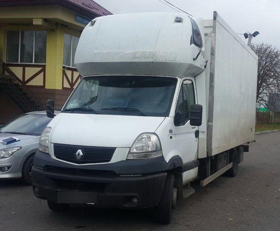 Правоохоронці на Львівщині затримали вантажівку, яку розшукували у Миколаївській області (фото) - фото 1