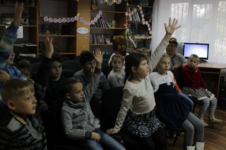 В добропольской детской библиотеке школьники узнали о «Тайне Чипполино» (ФОТО), фото-4