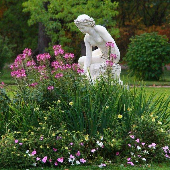 Город Пушкин готовит прекрасные парковые скульптуры к зиме, фото-2