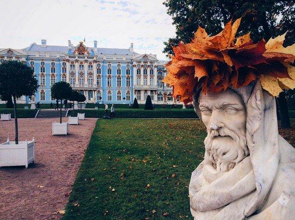 Город Пушкин готовит прекрасные парковые скульптуры к зиме, фото-1