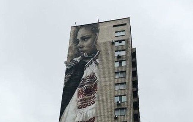 Мурал, посвящённый украинкам, может попасть к Книгу рекордов Гиннесса (ФОТО), фото-1