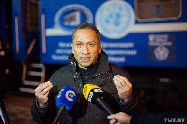 Гендерное неравенство, беженцы, авария на ЧАЭС: что обсудят пассажиры «Экспресса ООН-70» в Гомеле, фото-1
