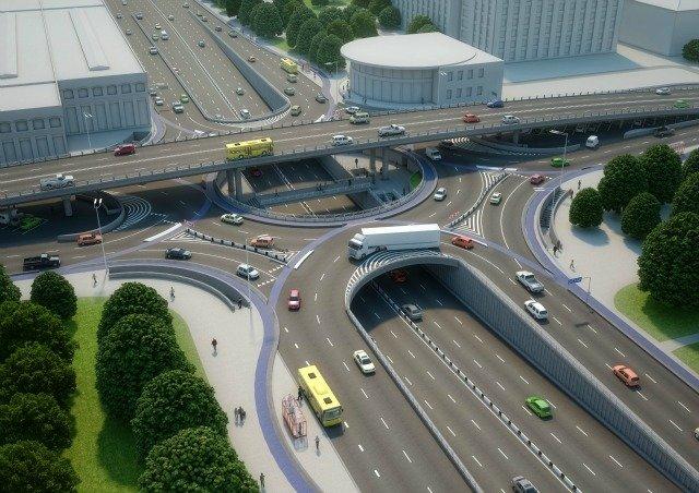 КГГА представила эскизы проекта реконструкции Шулявского путепровода (фото) - фото 1
