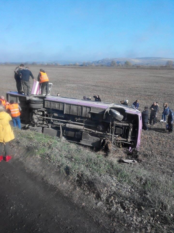 Свідок ДТП за участю пасажирського автобуса опублікував фото з місця аварії (ФОТО), фото-2