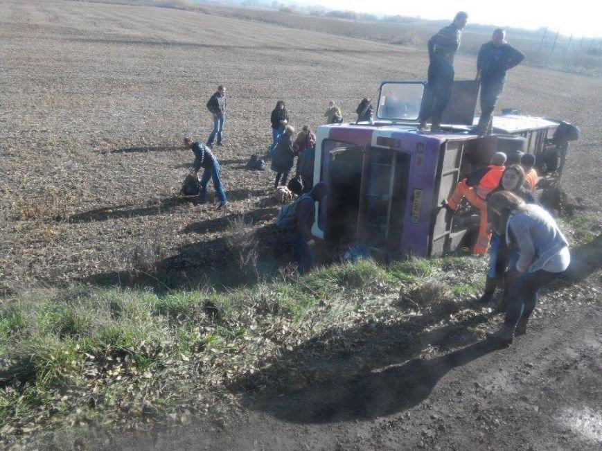 Свідок ДТП за участю пасажирського автобуса опублікував фото з місця аварії (ФОТО), фото-3