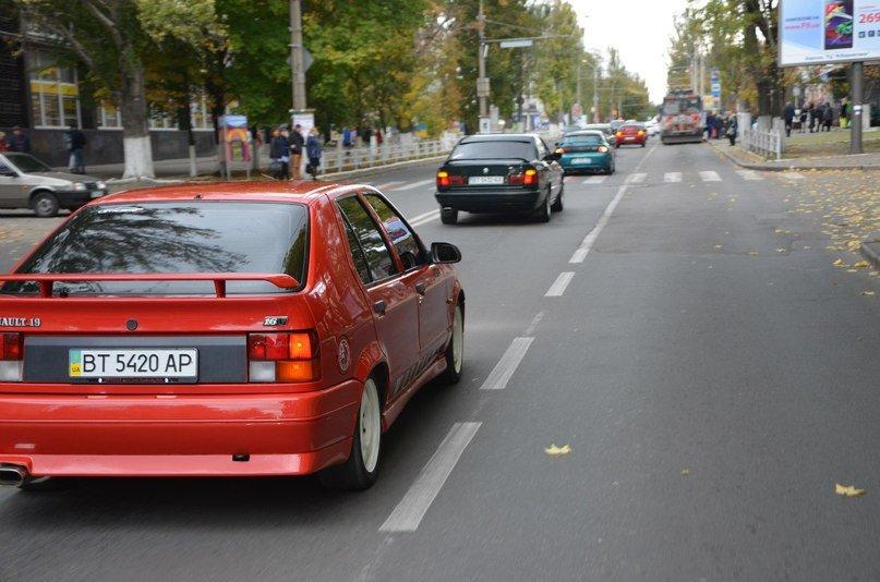 Как херсонские автомобилисты «свой» день отмечали (фото) - фото 1
