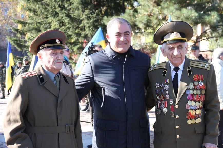 Николаевцы отметили 71-ю годовщину освобождения Украины от фашистских захватчиков (ФОТО), фото-13