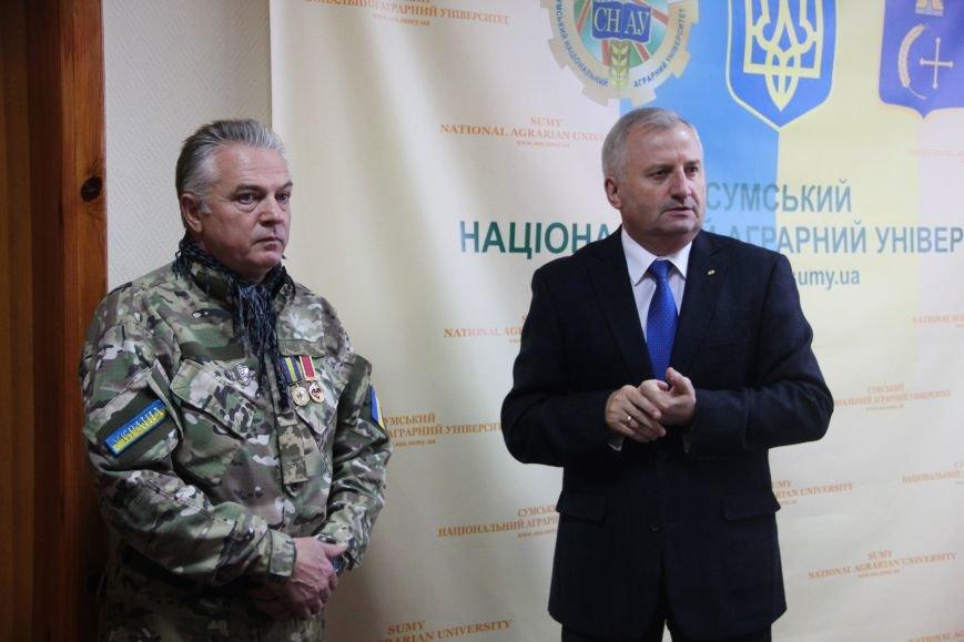 Сумкой НАУ получил боевое знамя (фото) - фото 1