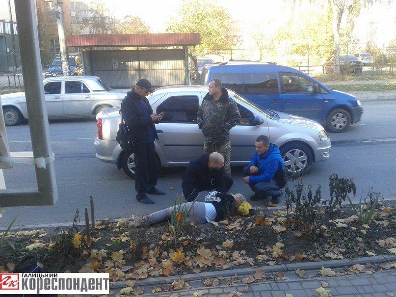 З-під коліс авто на лікарняне ліжко: черговий наїзд на пішохода у Івано-Франківську (ФОТО) (фото) - фото 1