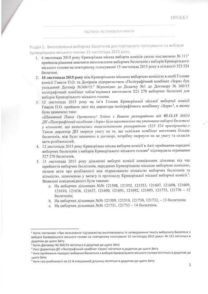 Временная следственная комиссия Верховной Рады утвердила результаты расследования (ДОКУМЕНТ) (фото) - фото 1