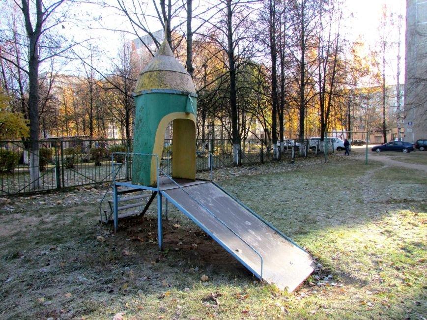 Дракон, обезьяны и медведь: фотопрогулка по дворам и паркам Новополоцка, фото-11