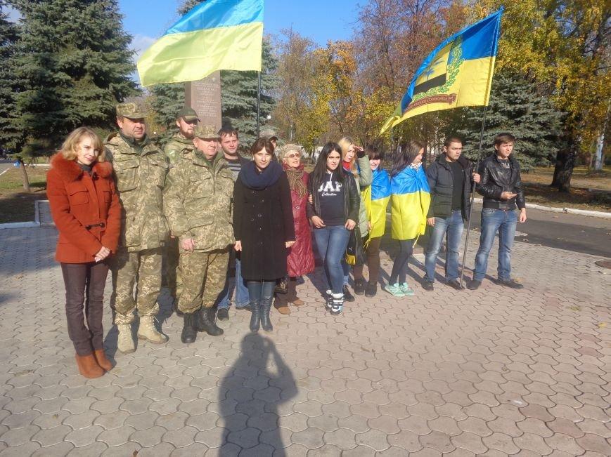 Красноармейский исторический музей почтил подвиг украинского народа в борьбе с нацизмом (фото) - фото 7