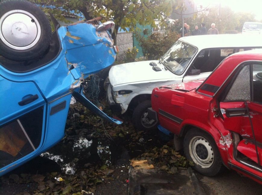 ДТП в Днепропетровске: столкнулись 4 автомобиля (ФОТО) (фото) - фото 2