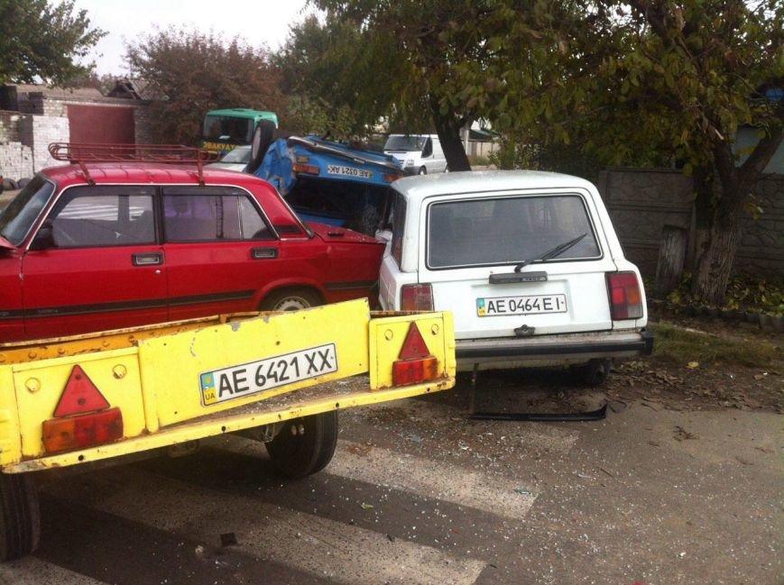 ДТП в Днепропетровске: столкнулись 4 автомобиля (ФОТО) (фото) - фото 6