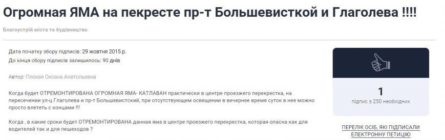 Днепродзержинцы начали составлять электронные петиции городской власти (фото) - фото 5