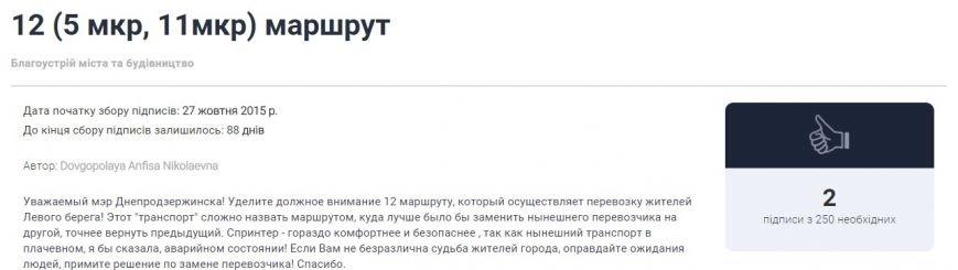Днепродзержинцы начали составлять электронные петиции городской власти (фото) - фото 3