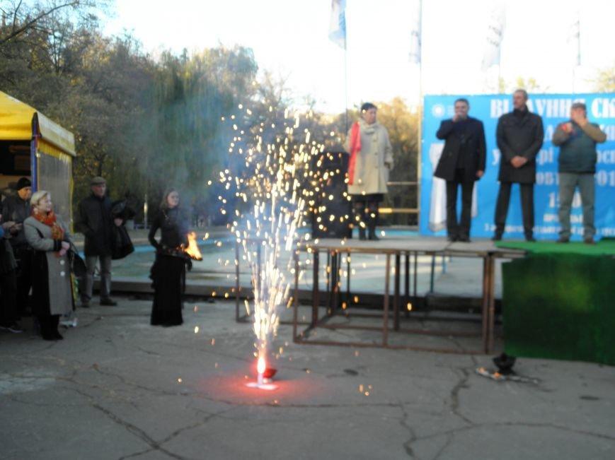 В Краматорске открыли Скифские ворота «Лабиринт» (фото) - фото 8