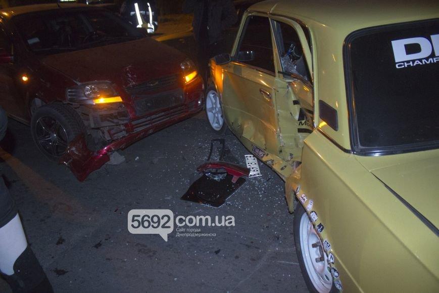 В Днепродзержинске произошло ДТП на улице Димитрова возле магазина «Сигнал», фото-2