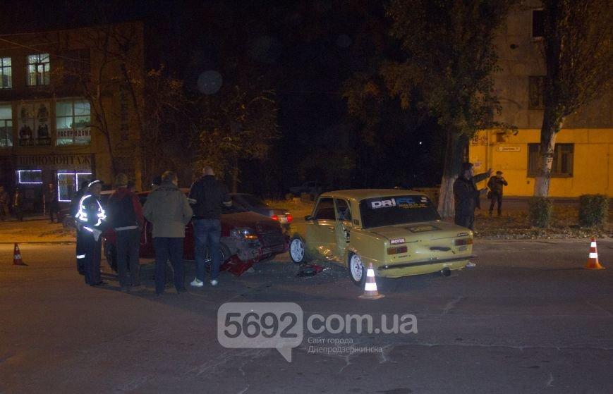 В Днепродзержинске произошло ДТП на улице Димитрова возле магазина «Сигнал», фото-1