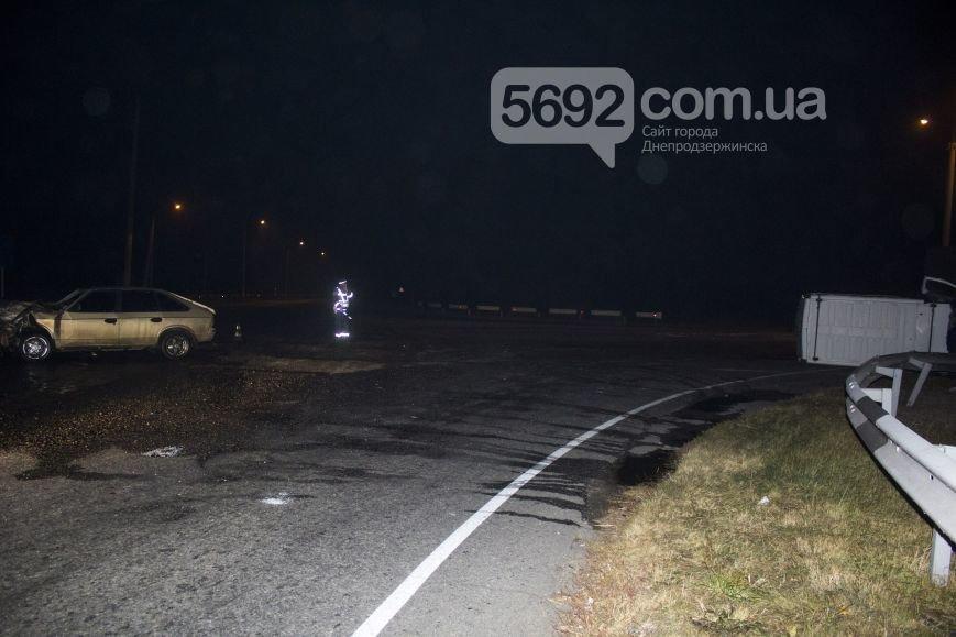 В ДТП на трассе под Днепродзержинском пострадало 2 человека (фото) - фото 1