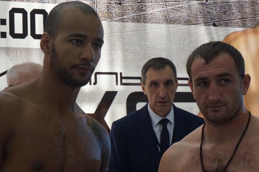 Участники грандиозного вечера бокса в Кривом Роге  прошли официальную процедуру взвешивания (ФОТО) (фото) - фото 2