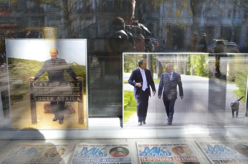«Неформальный Путин» перекочевал в Главпочтамт Симферополя (ФОТО) (фото) - фото 6