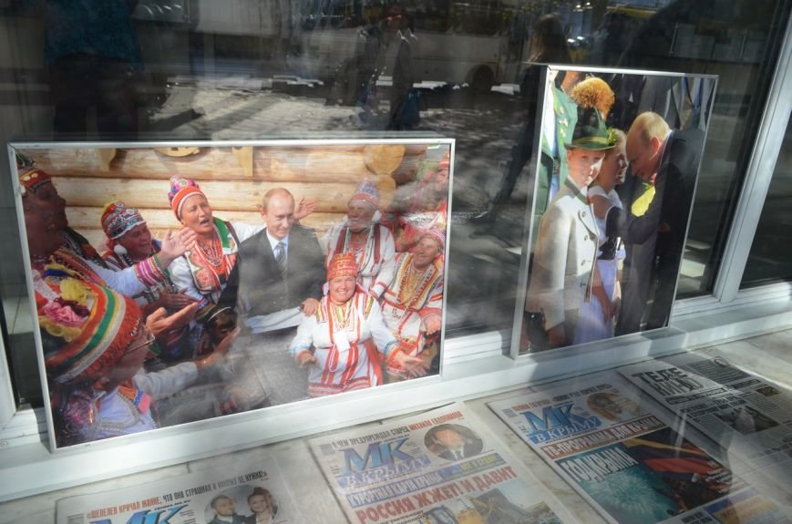«Неформальный Путин» перекочевал в Главпочтамт Симферополя (ФОТО) (фото) - фото 8