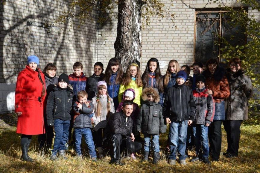 Маленькие енакиевцы украсят школьные дворы, фото-6