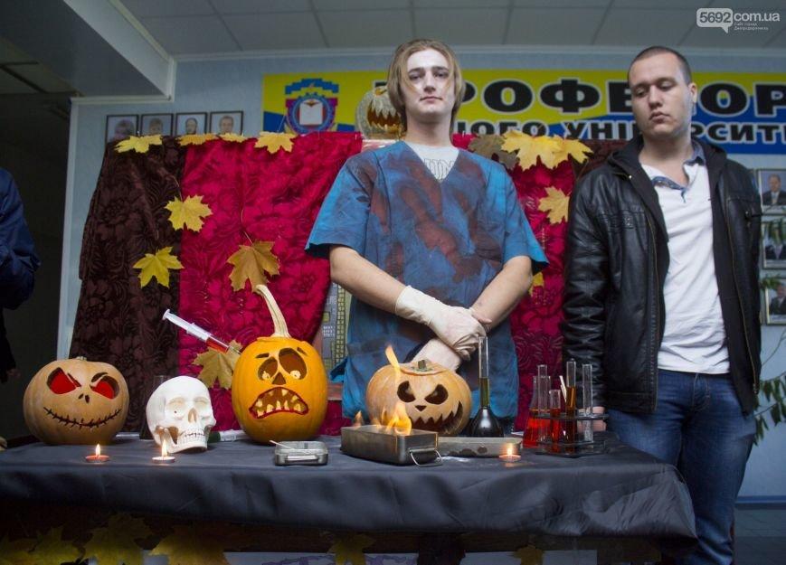 Студенты Днепродзержинска отмечают Хэллоуин, фото-3