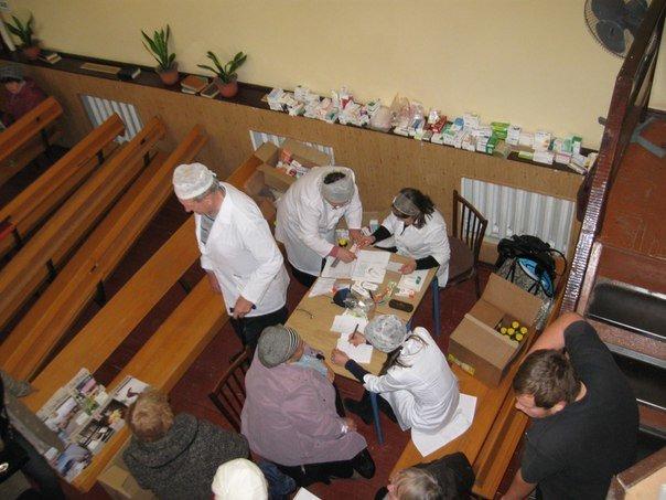 Около 100 авдеевцев смогли воспользоваться бесплатной помощью христианской ассоциации врачей (ФОТО) (фото) - фото 1