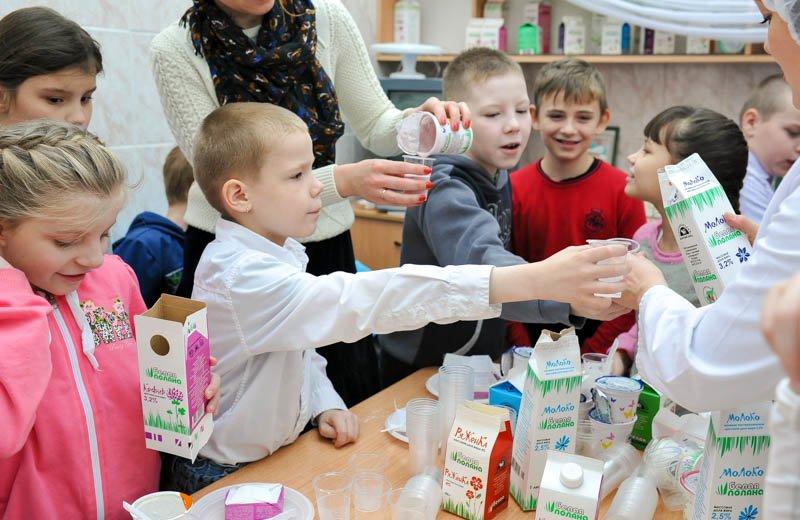 Сыктывкарский молочный завод устроил познавательную экскурсию для школьников, фото-3