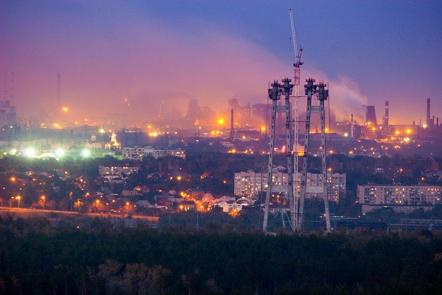 ФОТОПРОЕКТ: огни ночного Запорожья с крыш домов (фото) - фото 2