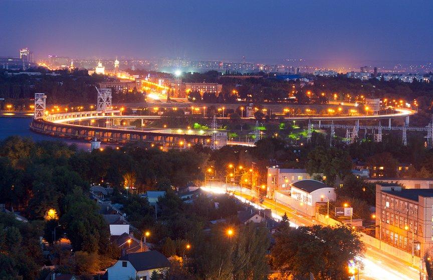 ФОТОПРОЕКТ: огни ночного Запорожья с крыш домов (фото) - фото 12