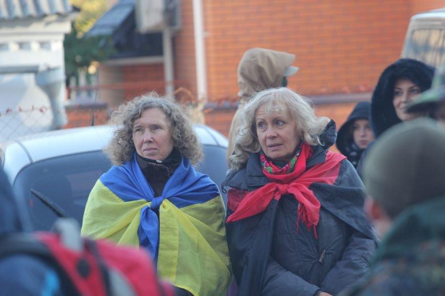 Днепропетровский Правый сектор провел митинг возле СИЗО (ФОТО), фото-4