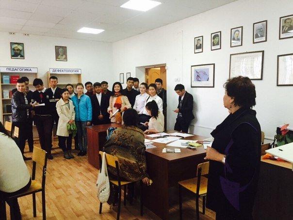 Экскурция  зарубежных студентов по городу Атырау(фото) (фото) - фото 1