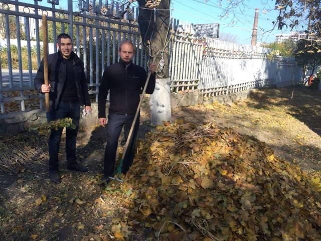 Никопольчане, не знаете что делать с опавшими листьями? Для Вас опыт областного центра (фото), фото-1