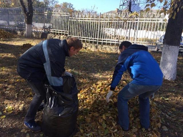 Никопольчане, не знаете что делать с опавшими листьями? Для Вас опыт областного центра (фото), фото-2