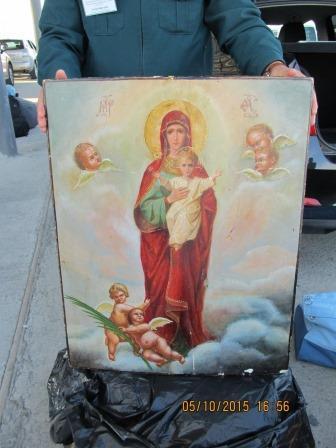 Крымские таможенники присекли вывоз старинной иконы стоимостью более 200 тыс. рублей (ФОТО), фото-1