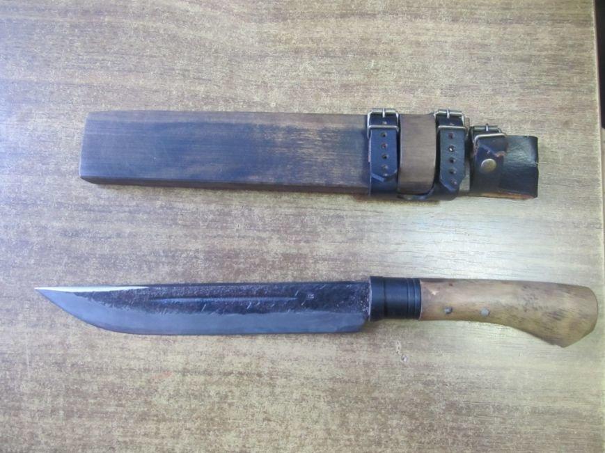 Нож950