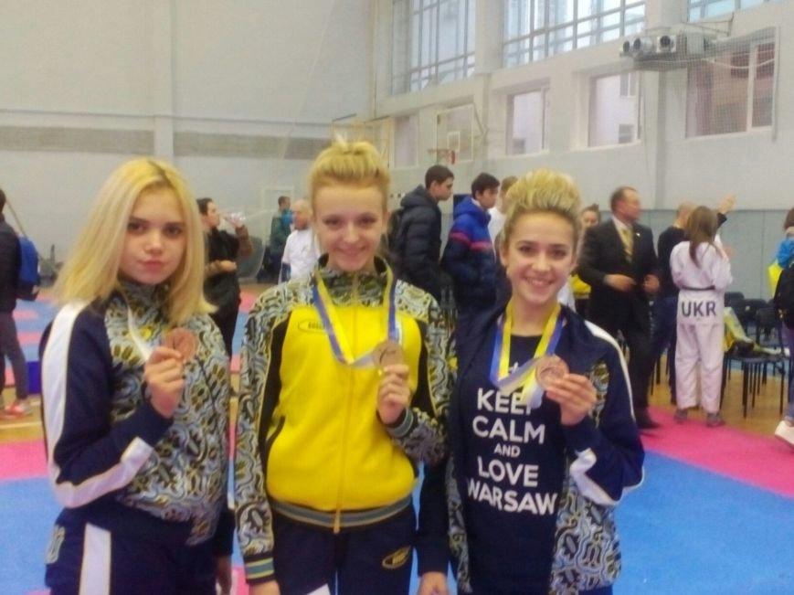 Днепродзержинцы завоевали 15 наград на международном турнире по тхеквондо (фото) - фото 1